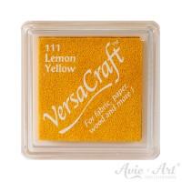 gelbes Pigmentstempelkissen für die Anwendung auf unbeschichtetem Papier & Stoff