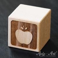Motivwürfel Apfel graviert