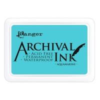 Archival Ink wasserfestes Stempelkissen - aquamarine