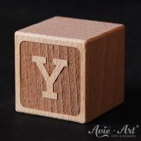 Buchstabenwürfel graviert Buchstabe Y