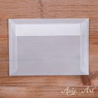 25 Briefumschläge transparent - 114 x 162 mm (DIN C6)