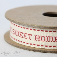 Webband Home Sweet Home - rot