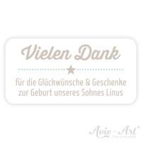 Aufkleber mit Wunschtext - a star is born III