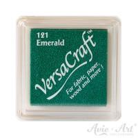 grünes Pigmentstempelkissen für die Anwendung auf unbeschichtetem Papier & Stoff
