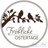 Motivstempel - Zweig mit Vögeln - Ø 30, Ø 40 oder Ø 50 mm