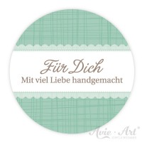 Handmadesticker - Für Dich