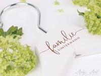 Kleiderbügel mit Familiennamen - personalisierter Kleiderbügel zur Hochzeit
