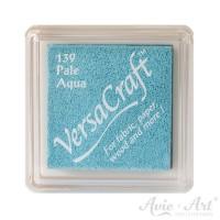 hellblaues Pigmentstempelkissen für die Anwendung auf unbeschichtetem Papier & Stoff