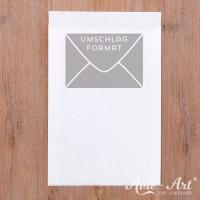 25 weiße Papiertüten 115 x 160 mm (ca. DIN C6)